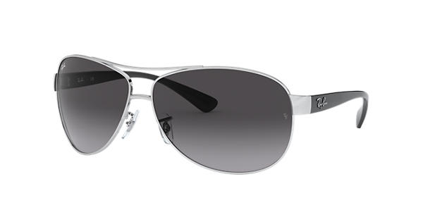 661f09dc874 Ray-Ban RB3386 Silver - Metal - Grey Lenses - 0RB3386003 8G67