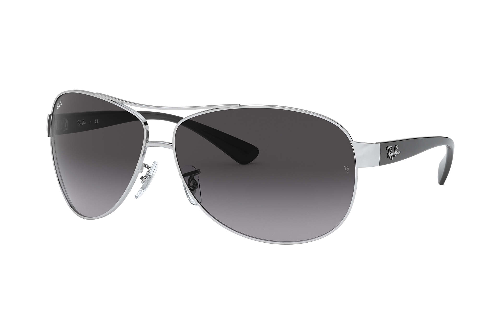7b4b9a91c9 Ray-Ban RB3386 Argent - Métal - Verres Gris - 0RB3386003/8G67 | Ray ...