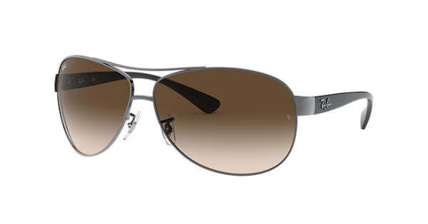 6466f896ccb Ray-Ban RB3386 Gunmetal - Metal - Brown Lenses - 0RB3386004 1363 ...