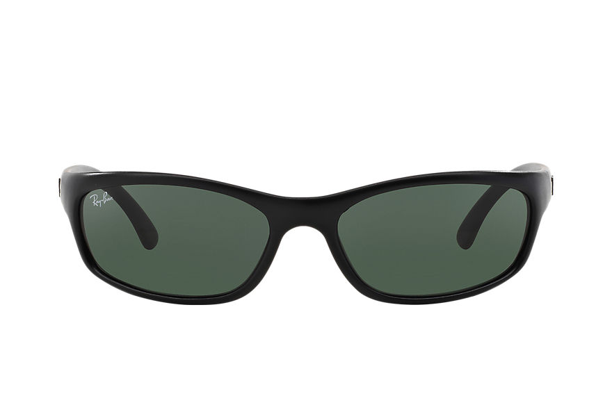 Ray-Ban RB4115 Black with Green Classic lens