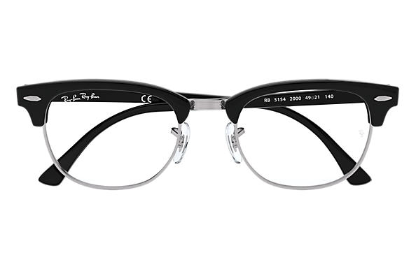 Ray-Ban Clubmaster Optics Black