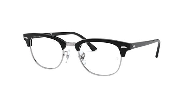ed2a7f8dcc Ray-Ban prescription glasses Clubmaster Optics RB5154 Black - Acetate -  0RX5154200049