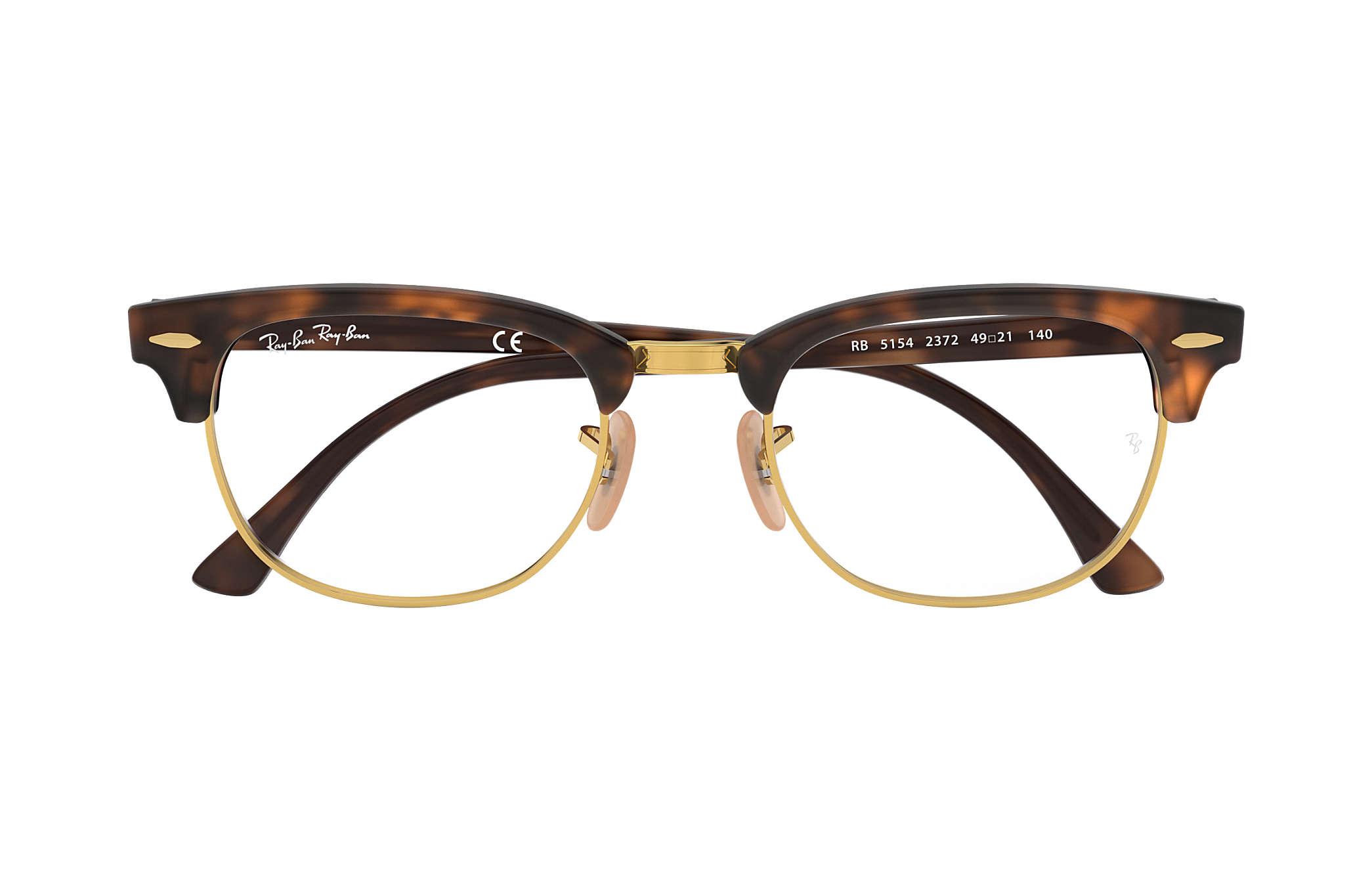 1ee4c38e64 Ray-Ban eyeglasses Clubmaster Optics RB5154 Tortoise - Acetate ...