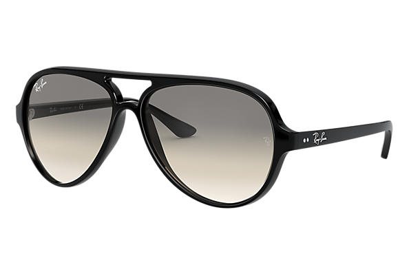 Ray-Ban 0RB4125-CATS 5000 CLASSIC Black SUN