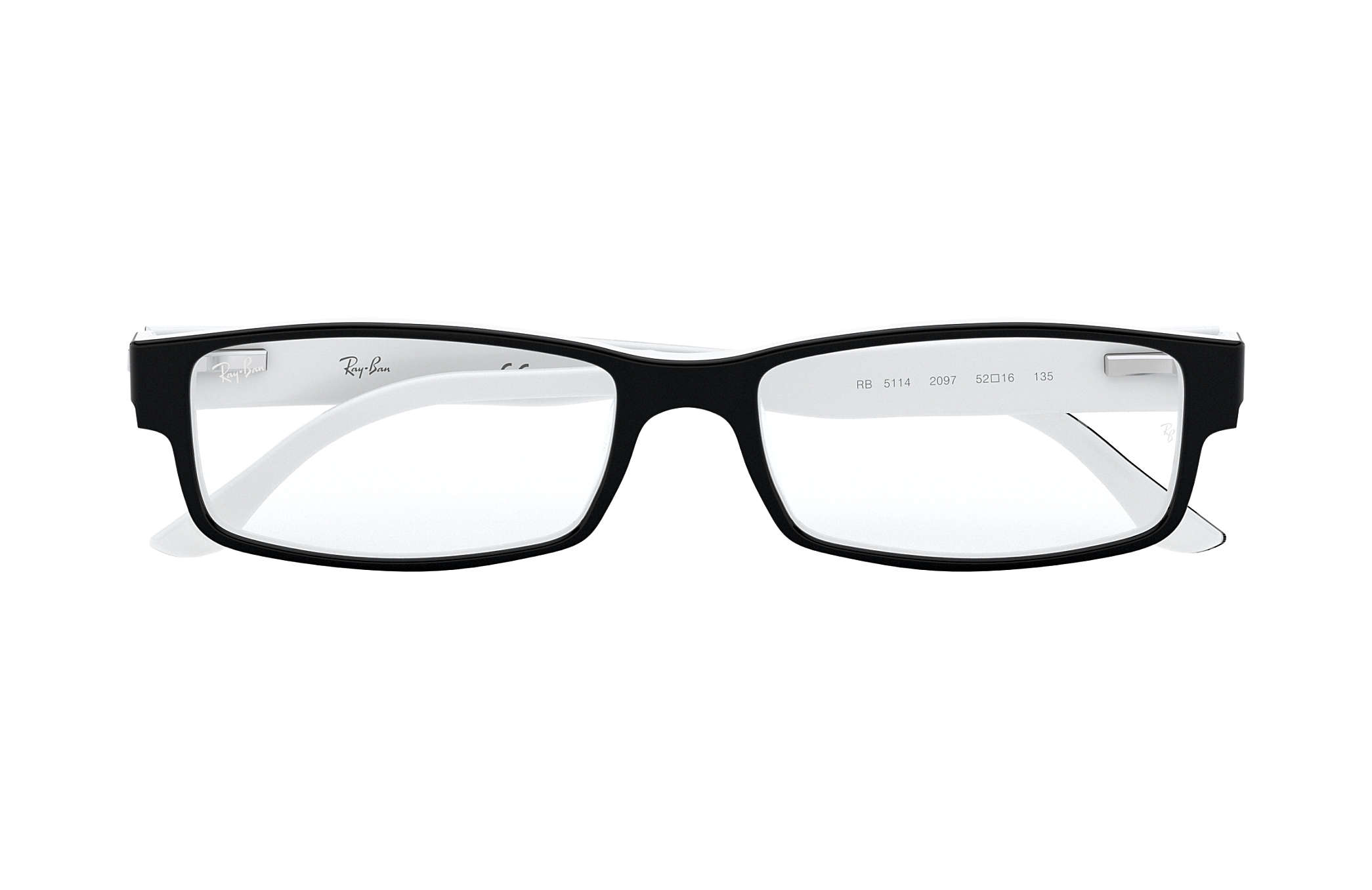 abad6099153 Ray-Ban prescription glasses RB5114 Black - Acetate - 0RX5114209752 ...