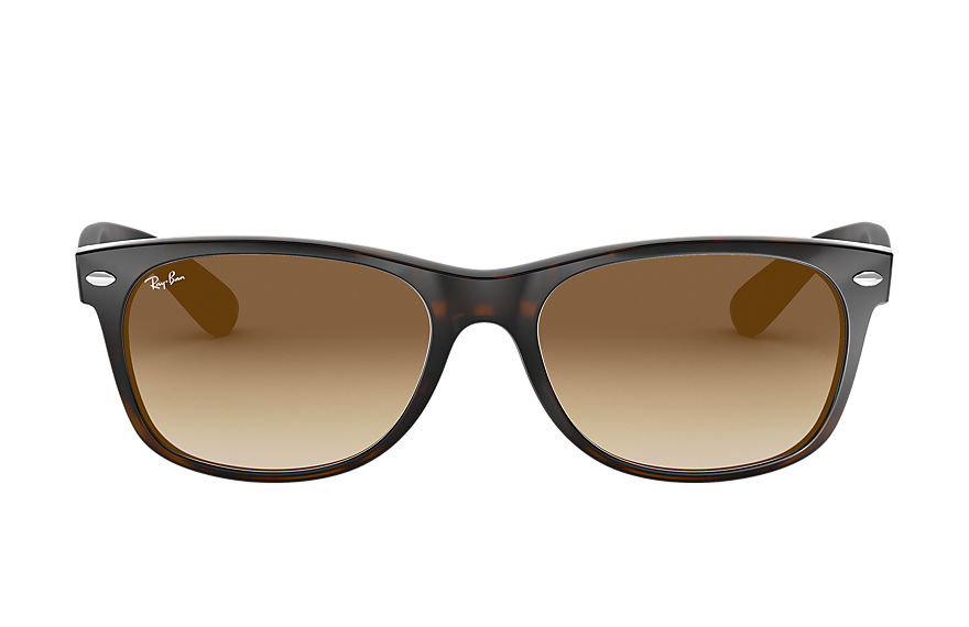Ray-Ban NEW WAYFARER CLASSIC Tortoise with Blue/Green Gradient lens
