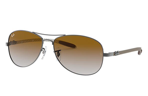 Ray-Ban 0RB8301-RB8301 Gunmetal; Grey SUN