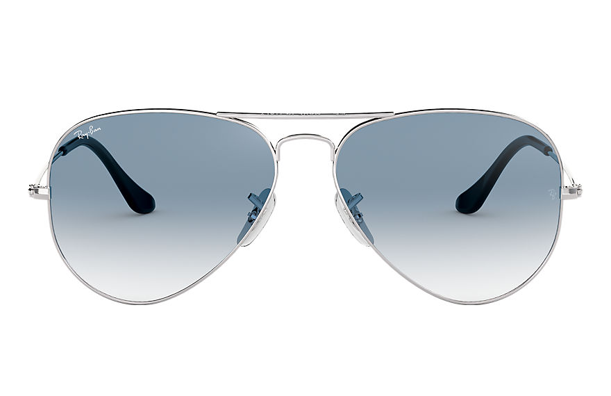 Ray-Ban  sunglasses RB3025 UNISEX 018 aviator gradient silver 805289307693