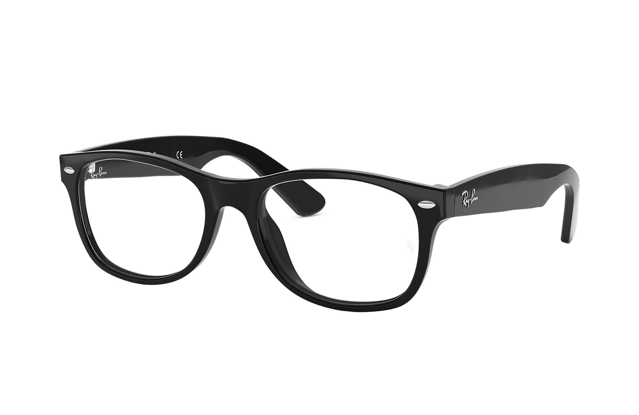 a8aaea7552 Ray-Ban prescription glasses New Wayfarer Optics RB5184 Black ...