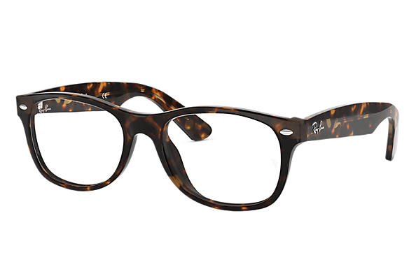 228e9b55710 Ray-Ban prescription glasses New Wayfarer Optics RB5184 Black - Acetate -  0RX5184200052