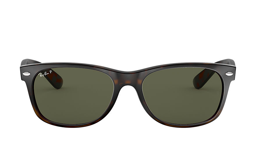 Ray-Ban  sunglasses RB2132 UNISEX 062 new wayfarer classic gloss tortoise 805289330462