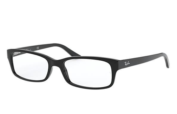 bc69e25d2b47c Ray-Ban prescription glasses RB5187 Black - Acetate - 0RX5187200050 ...