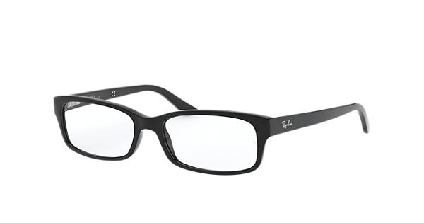 d5c34daaec Ray-Ban prescription glasses RB5187 Black - Acetate - 0RX5187200050 ...