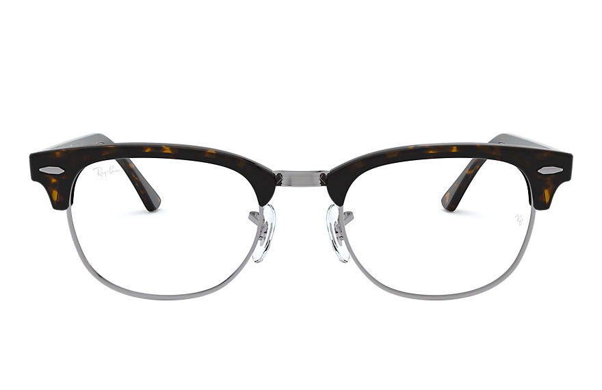 레이밴 Eyeglasses CLUBMASTER OPTICS 호피색