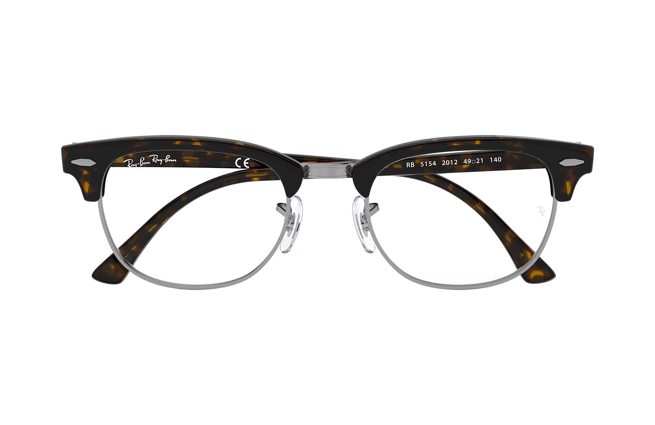 dd05c2c7ac Ray-Ban prescription glasses Clubmaster Optics RB5154 Tortoise ...