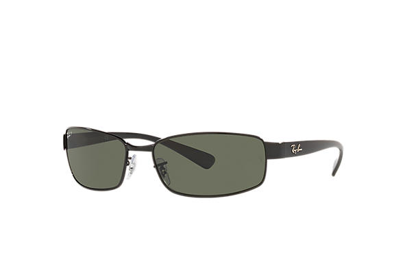 53fd922b1c Ray-Ban RB3364 Black - Metal - Green Lenses - 0RB336400262