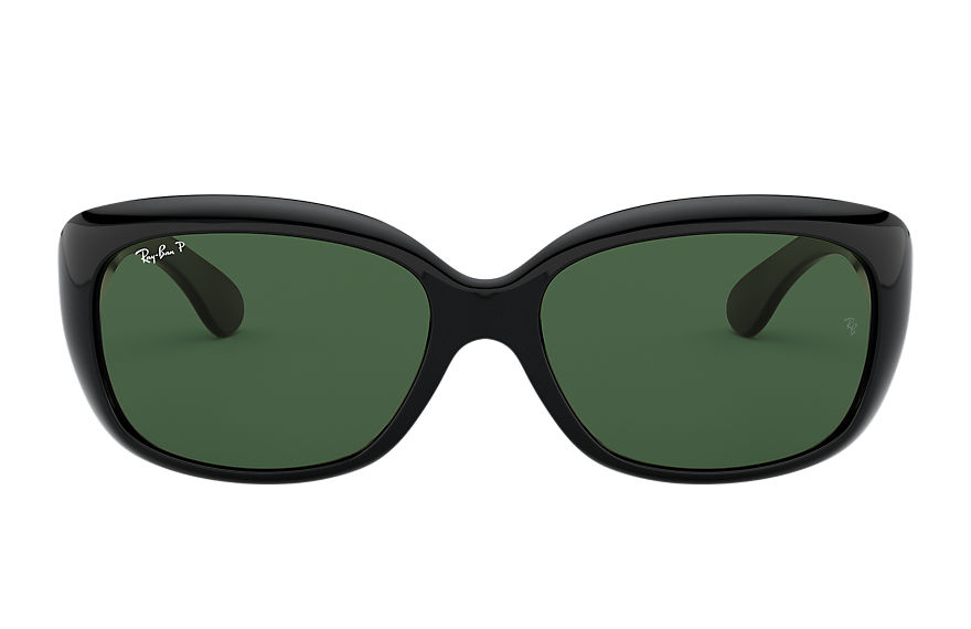 Ray-Ban JACKIE OHH Black with Green Classic G-15 lens
