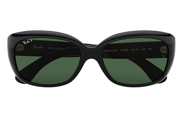 Ray Ban Ray-Ban 0RB4101 JACKIE OHH 601/58 Schwarz Gr. 58/17 (mit Sehstärke) lOy5yZil45