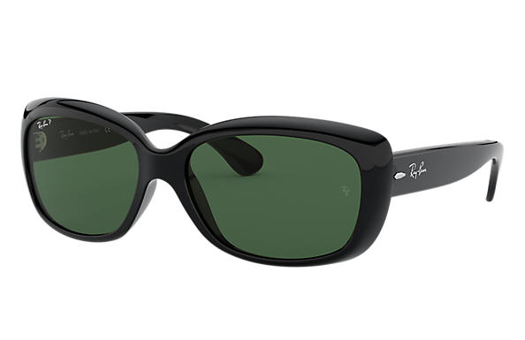 Ray-Ban Sunglasses JACKIE OHH Black with Green Classic G-15 lens