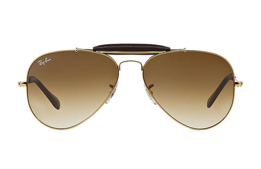 Ray-Ban  lunettes de soleil RB3422Q UNISEX 003 outdoorsman craft or 805289368830