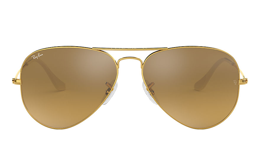 Ray-Ban  sunglasses RB3025 UNISEX 021 aviator gradient gold 805289374190