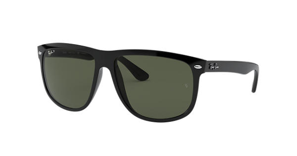 fbda5ee7ddc Ray-Ban RB4147 Black - Nylon - Green Polarized Lenses - 0RB4147601 5860
