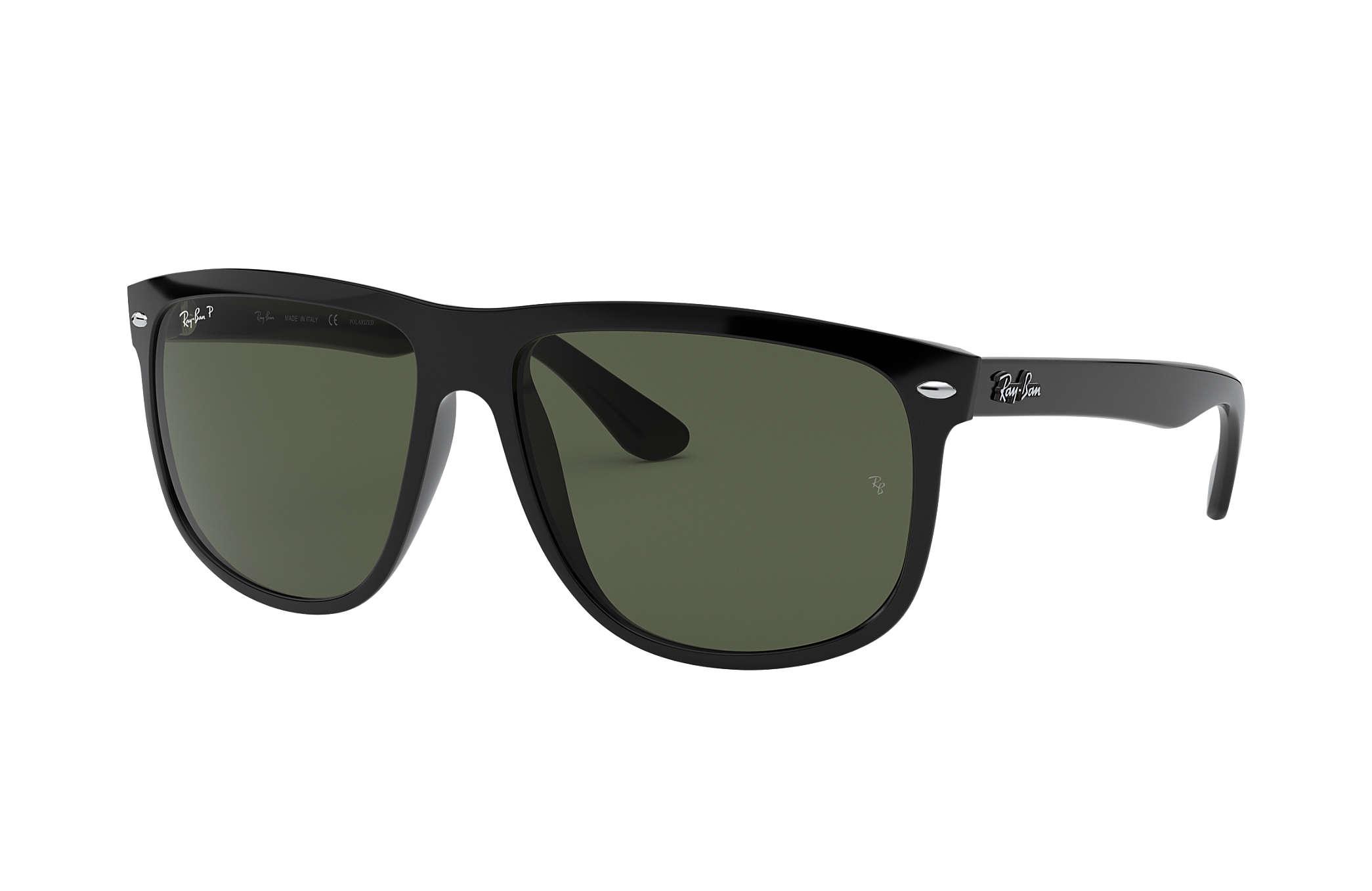 Ray-Ban RB4147 Black - Nylon - Green Polarized Lenses - 0RB4147601 ... 1e961e3e45bd