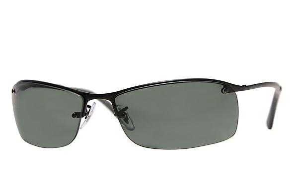 1ccd8d941a Ray-Ban RB3183 Black - Metal - Green Lenses - 0RB3183006 7163