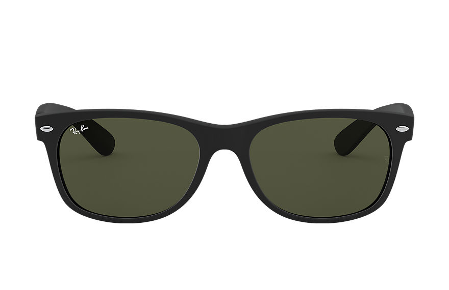 Ray-Ban  sunglasses RB2132 UNISEX 053 new wayfarer classic matte black 805289421795