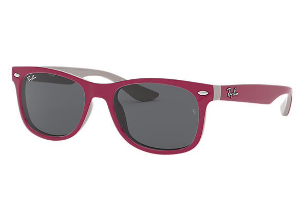 Ray-Ban 0RJ9052S-NEW WAYFARER JUNIOR Violet,Gris SUN