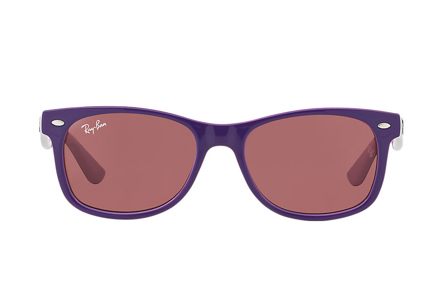 Ray-Ban  sunglasses RJ9052S CHILD 010 new wayfarer junior violet 805289432050