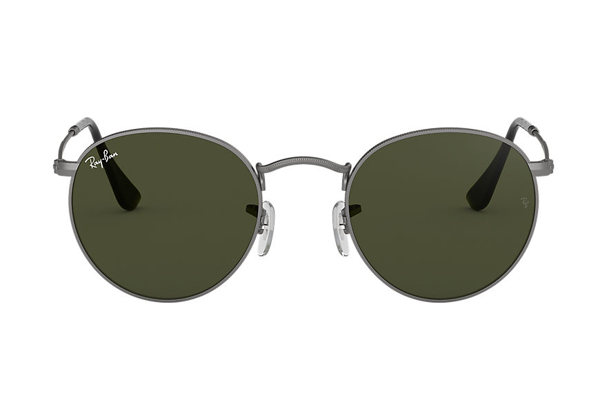 Ray-Ban  sunglasses RB3447 UNISEX 005 round metal 霧光槍管灰色 805289439936