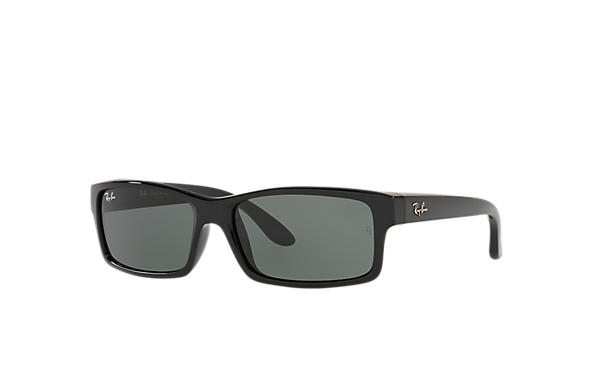 aae95a1b7e Ray-Ban RB4151 Black - Nylon - Green Lenses - 0RB415160159