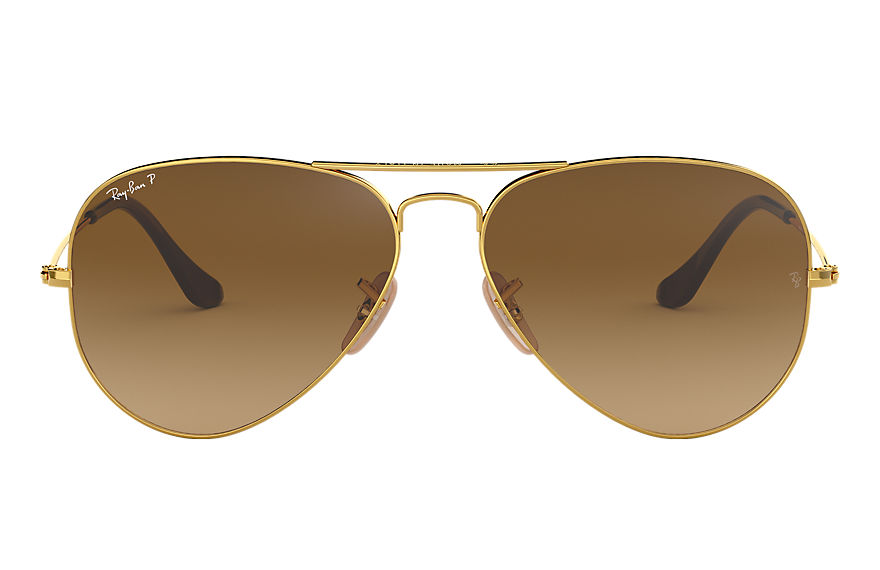 Ray-Ban  sunglasses RB3025 UNISEX 036 aviator gradient gold 805289441557