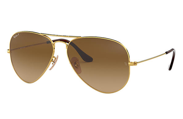 Ray-Ban 0RB3025-AVIATOR GRADIENT Gold SUN