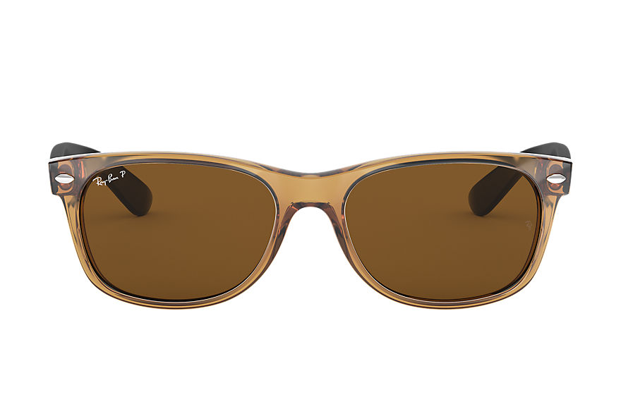 Ray-Ban  sunglasses RB2132 UNISEX 063 new wayfarer bicolor honey 805289442639