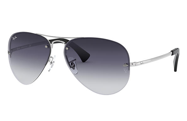 68aa299bee Ray-Ban RB3449 Silver - Metal - Grey Lenses - 0RB3449003 8G59