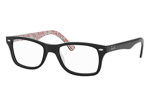 Ray-Ban 0RX5228-RB5228 Schwarz,Multicolor OPTICAL