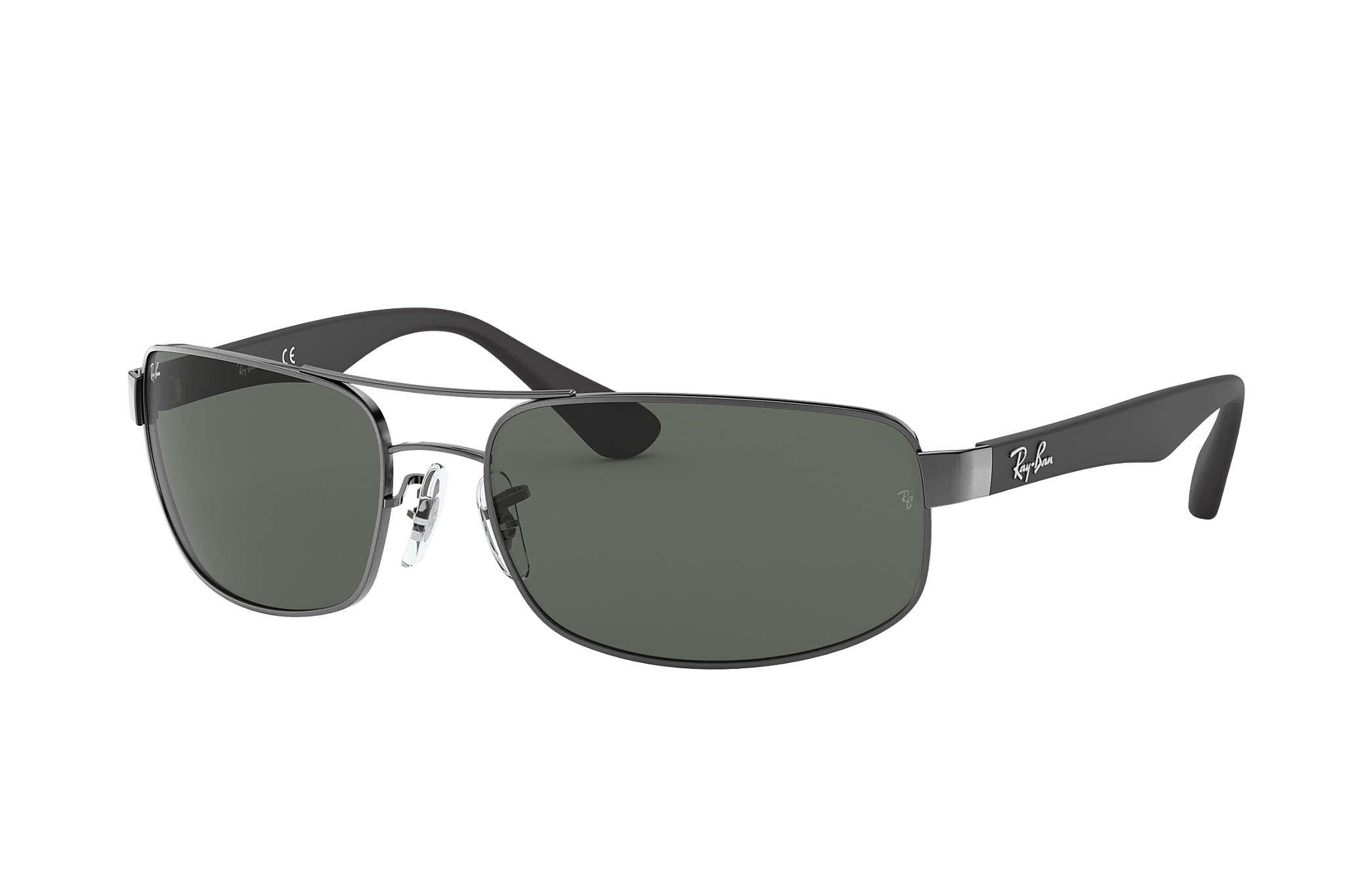 05e3abfc6fa Ray-Ban RB3183 Black - Metal - Grey Polarized Lenses - 0RB3183002 ...