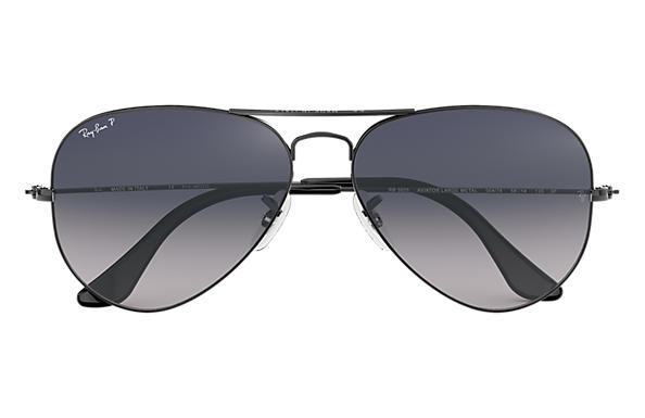 ray ban aviator polarized