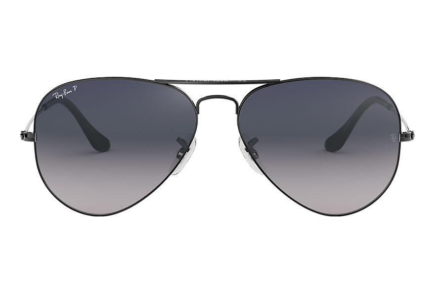Ray-Ban  occhiali da sole RB3025 UNISEX 068 aviator gradient polished gunmetal 805289467076