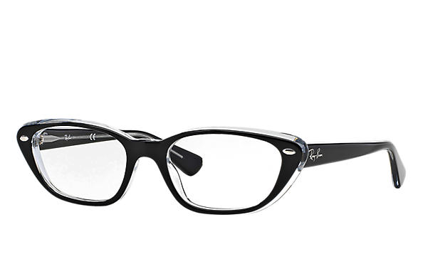 Ray-Ban 0RX5242-RB5242 Black,Transparent OPTICAL