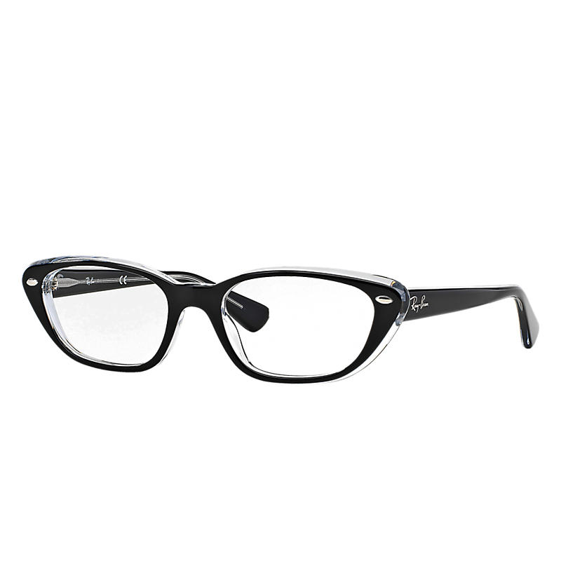 Image of Ray-Ban Black Eyeglasses - Rb5242