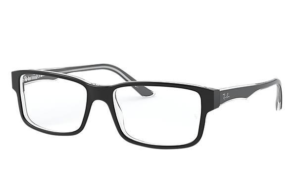 165e0e7912c Ray-Ban prescription glasses RB5245 Black - Acetate - 0RX5245203454 ...