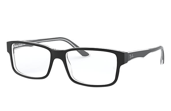 Ray-Ban 0RX5245-RB5245 Schwarz,Transparent OPTICAL