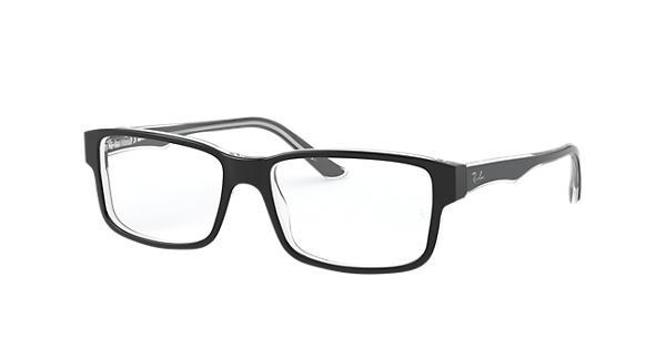 d17d184522 Ray-Ban prescription glasses RB5245 Black - Acetate - 0RX5245203454 ...