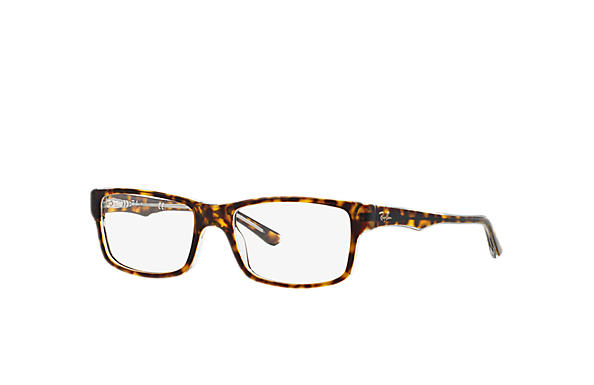5cae004c44d Ray-Ban prescription glasses RB5245 Black - Acetate - 0RX5245203454 ...