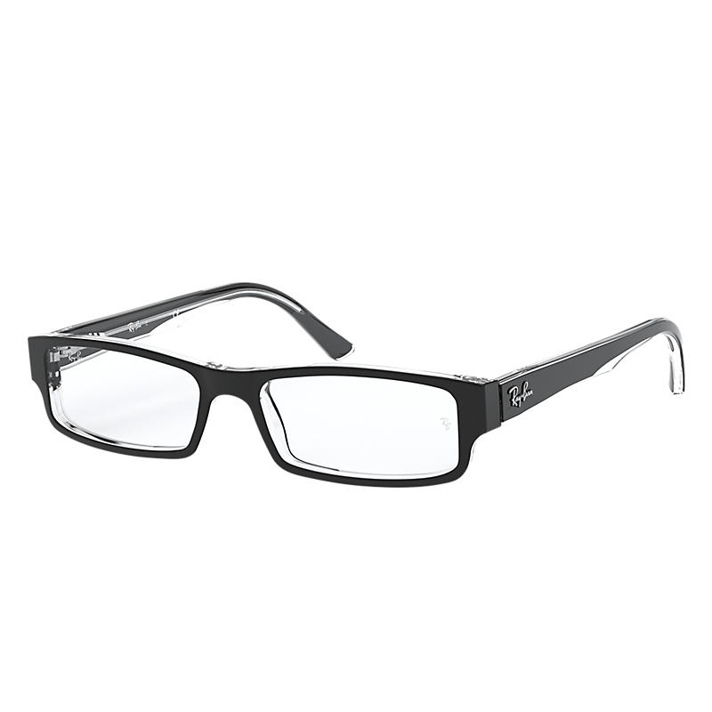 Image of Ray-Ban Black Eyeglasses - Rb5246