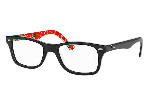 Ray-Ban 0RX5228-RB5228 Czarny,Multi OPTICAL