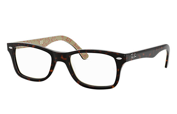 Ray-Ban 0RX5228-RB5228 Carey,Multicolor OPTICAL